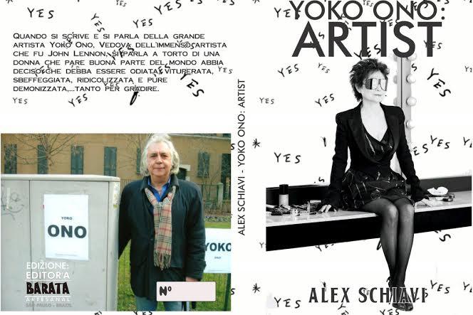 Libro inedito, scritto dal musicista Alex Schiavi, e tutto dedicato all