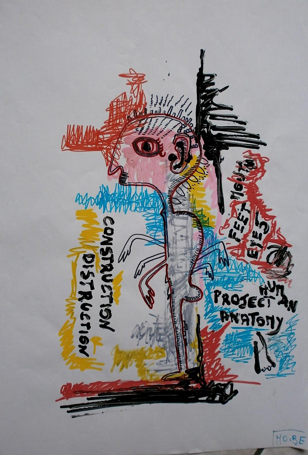 Human Project Drawing